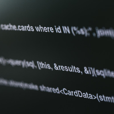 「オープンソースコード」の写真素材