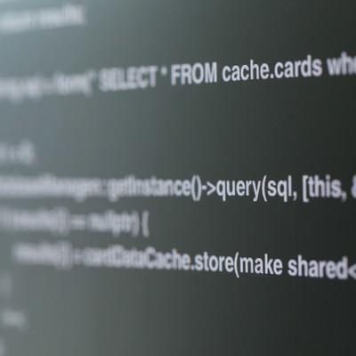 確率変動らしいプログラムのソースコードの写真
