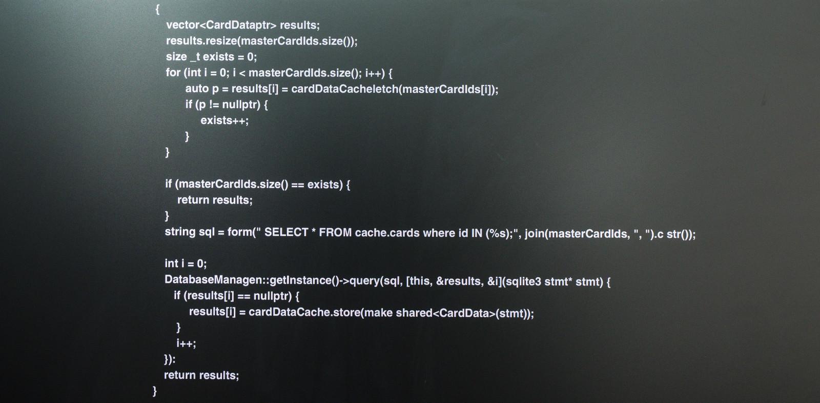 「詫びソースコードを公開レビュー」の写真