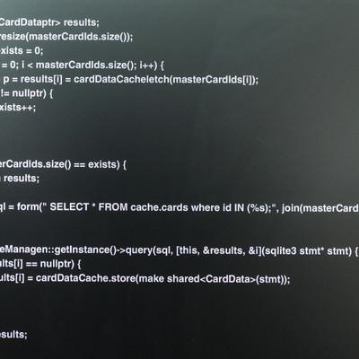 詫びソースコードを公開レビューの写真