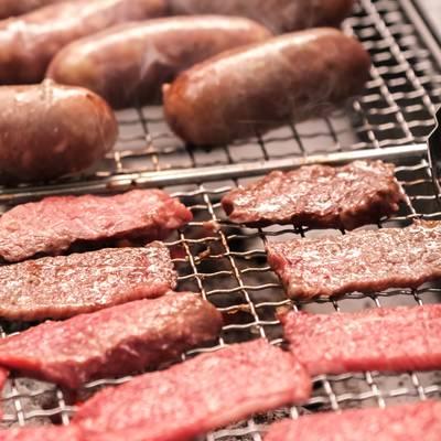 「焼肉BBQ(バーベキュー)」の写真素材