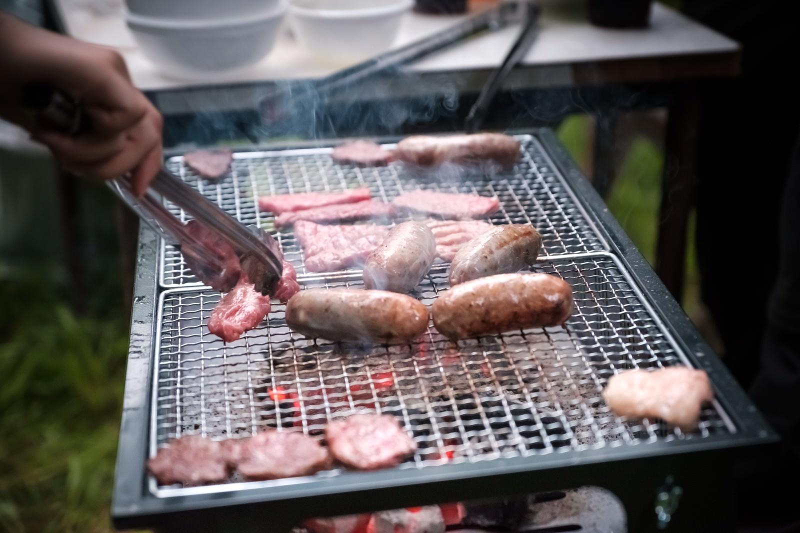 「焼肉バーベキュー」の写真