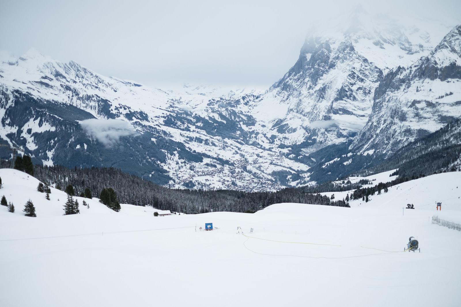 「雪山の景観(フィルスト)」の写真