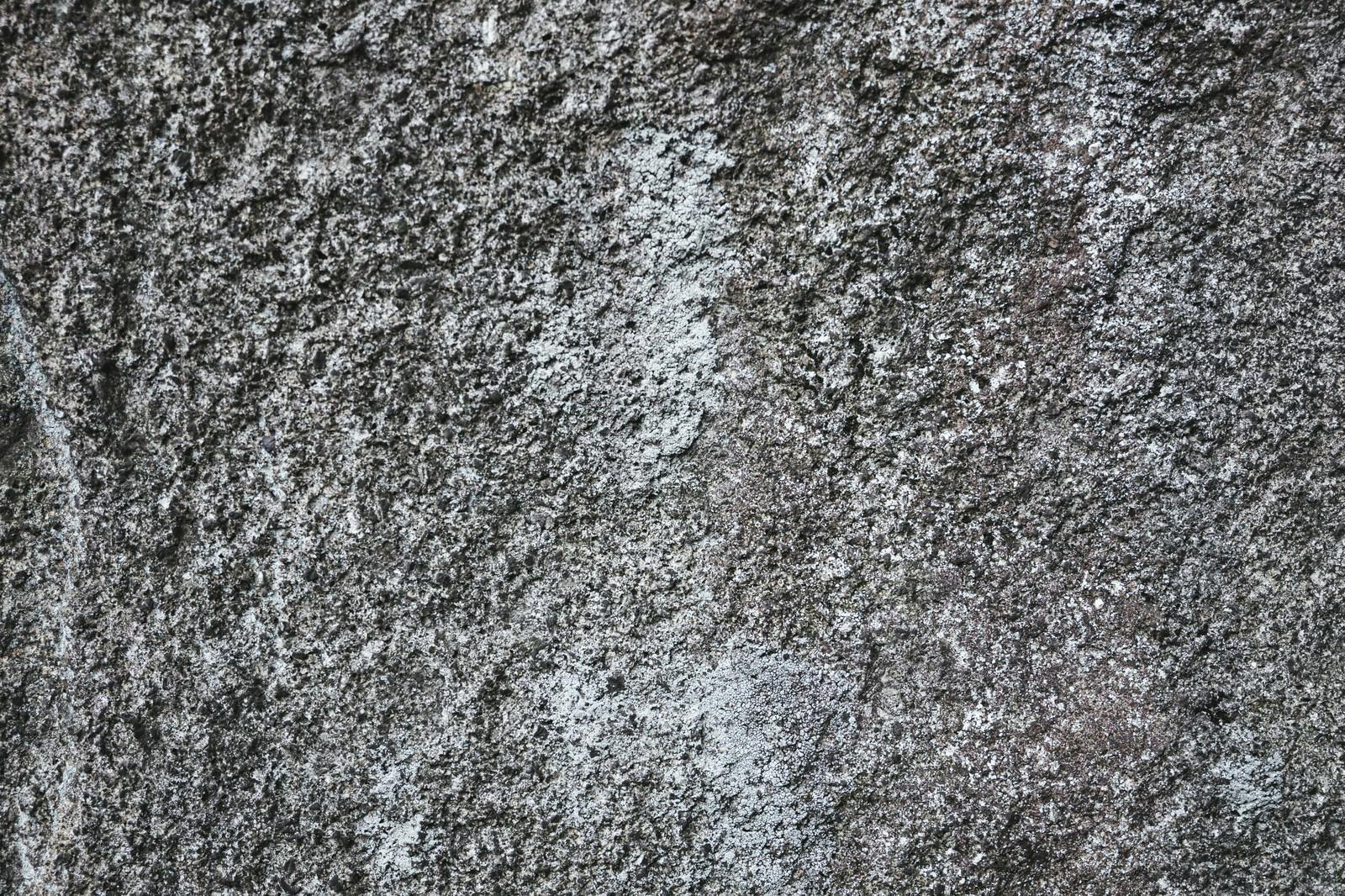「表面が削れたコンクリート壁(テクスチャ)」の写真
