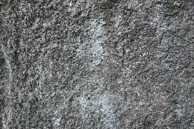 表面が削れたコンクリート壁(テクスチャ)の写真