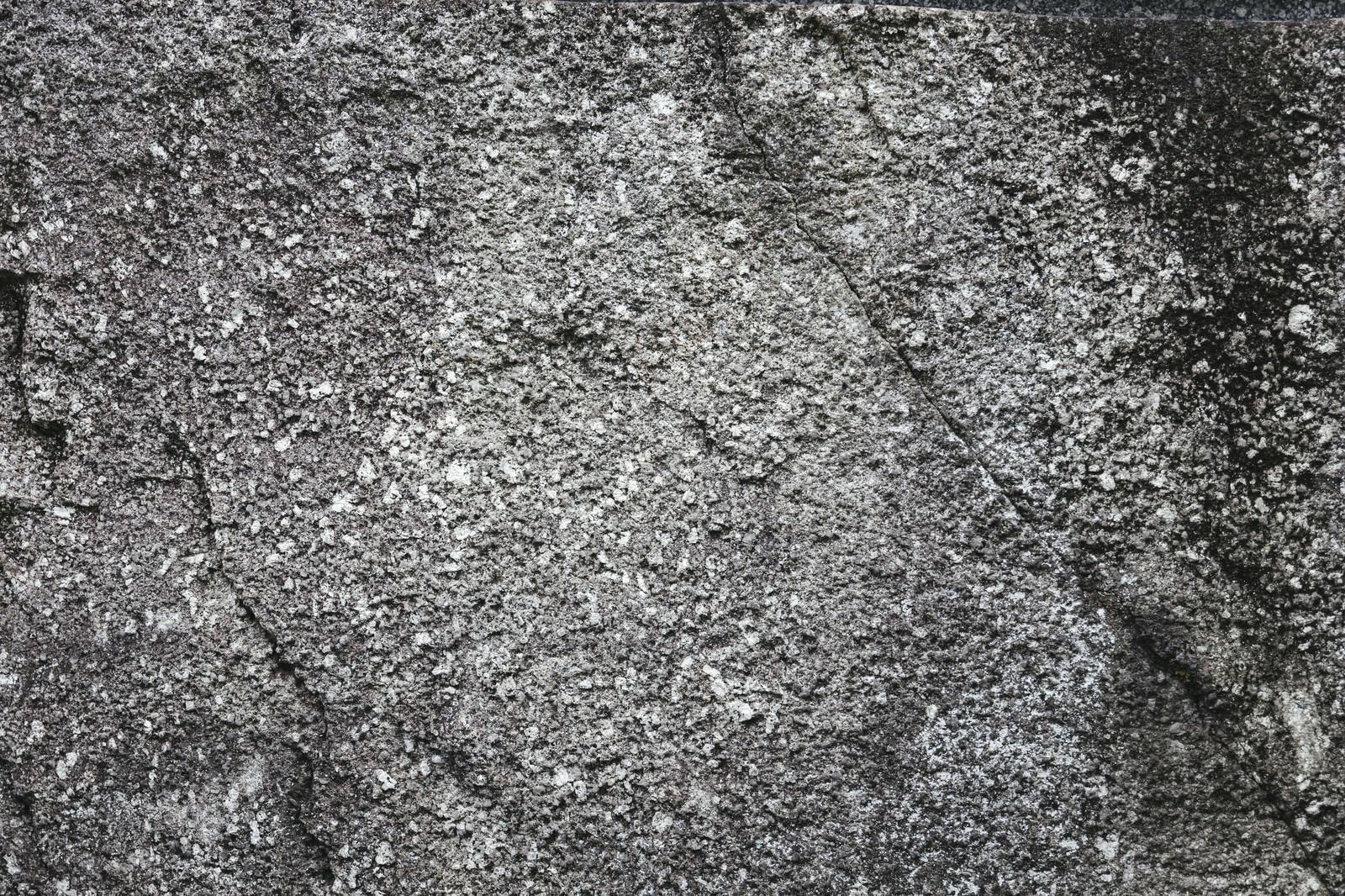「クラック入りのコンクリート壁(テクスチャ)」の写真