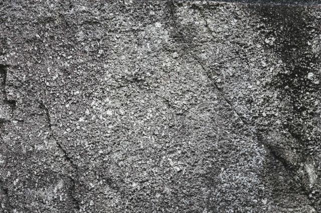 クラック入りのコンクリート壁(テクスチャ)の写真