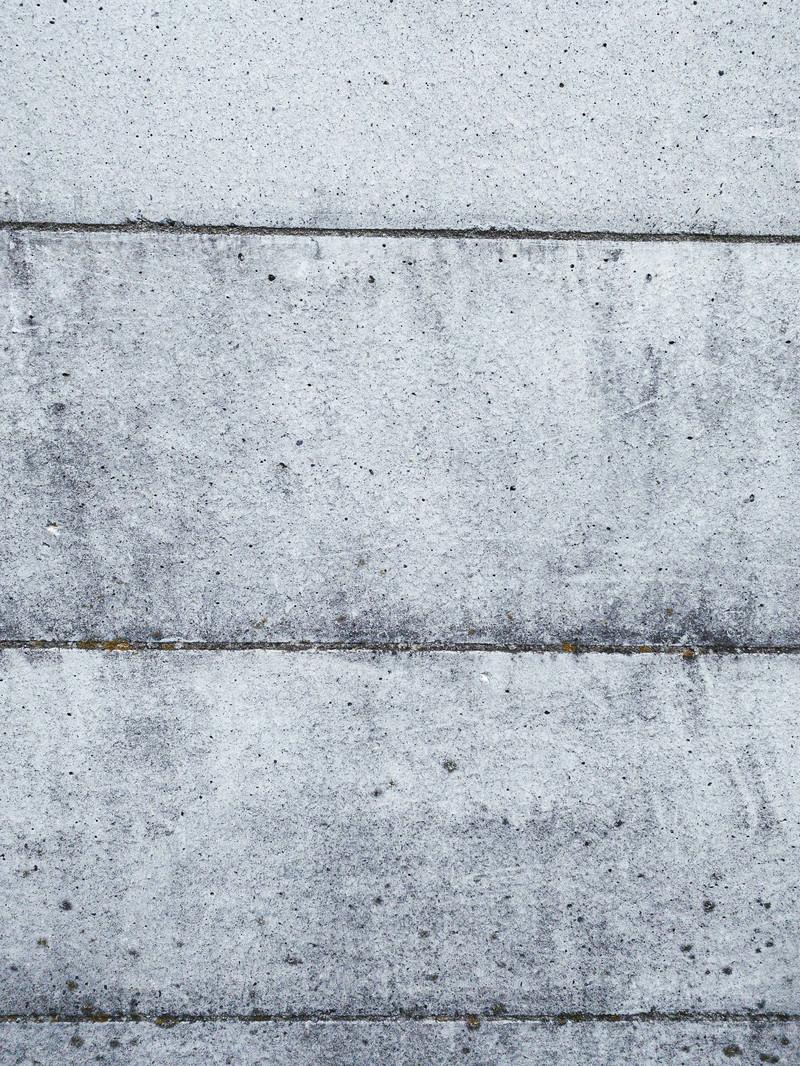 「汚れたコンクリートの壁」の写真