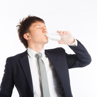「この水素水うめぇええ(営業)」の写真素材