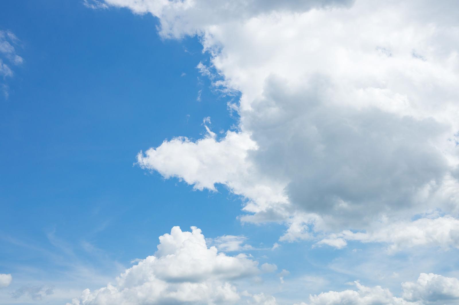 「晴れ時々くもり晴れ時々くもり」のフリー写真素材を拡大