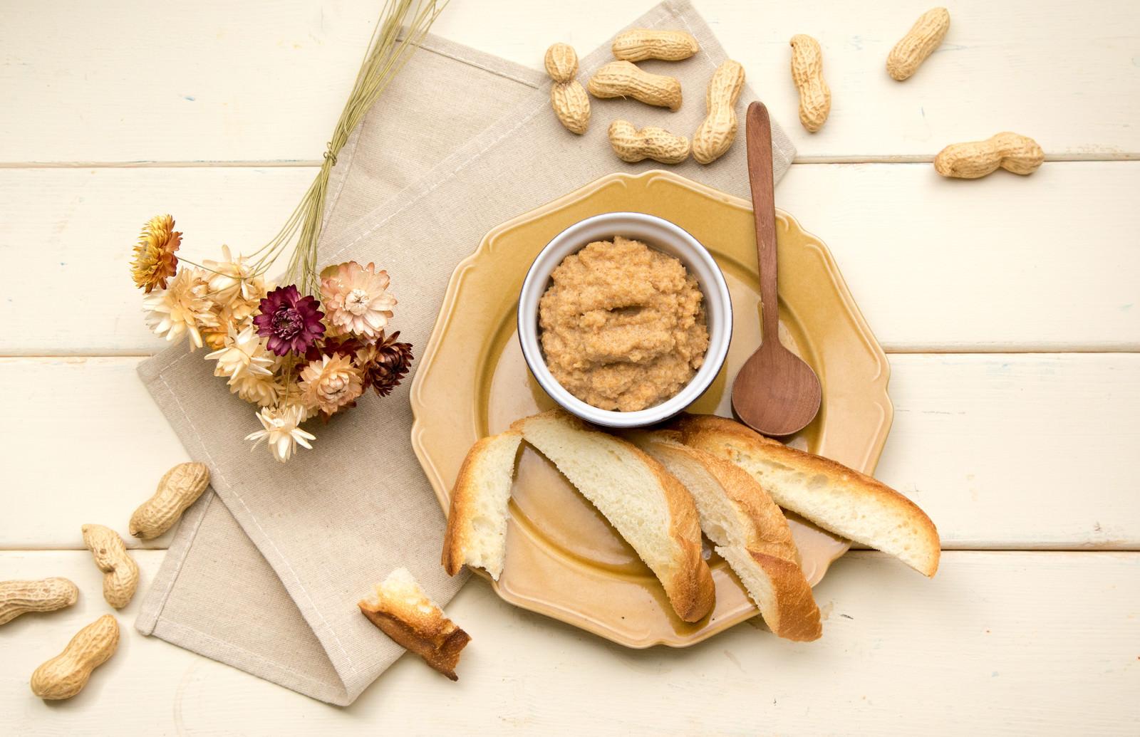 「和物にもちょうどいいお手軽なピーナッツバター」の写真