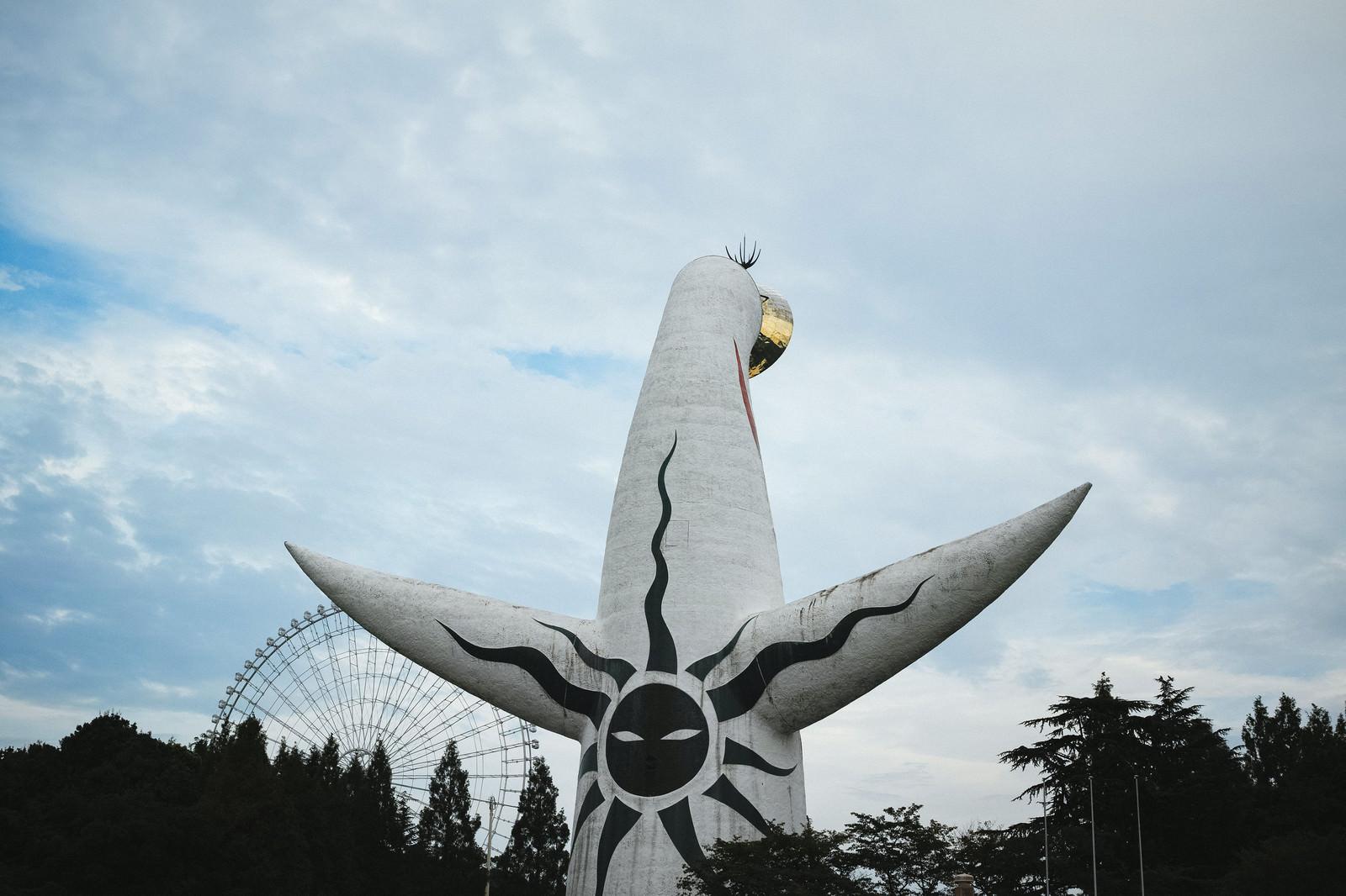 「太陽の塔(背面)太陽の塔(背面)」のフリー写真素材を拡大