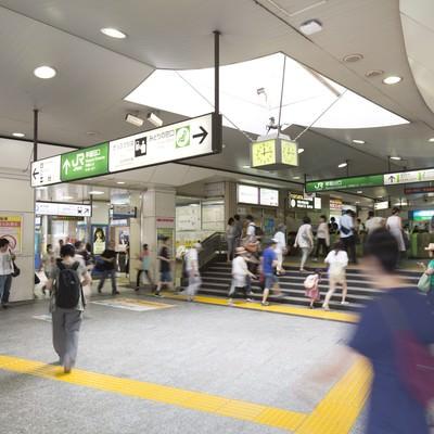 「高田馬場駅改札」の写真素材