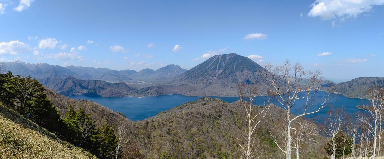 「日光中禅寺湖のパノラマ写真日光中禅寺湖のパノラマ写真」のフリー写真素材を拡大