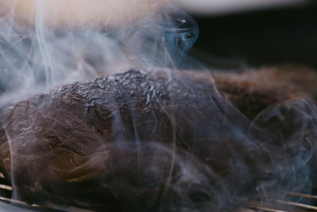 エゾシカの燻製の写真
