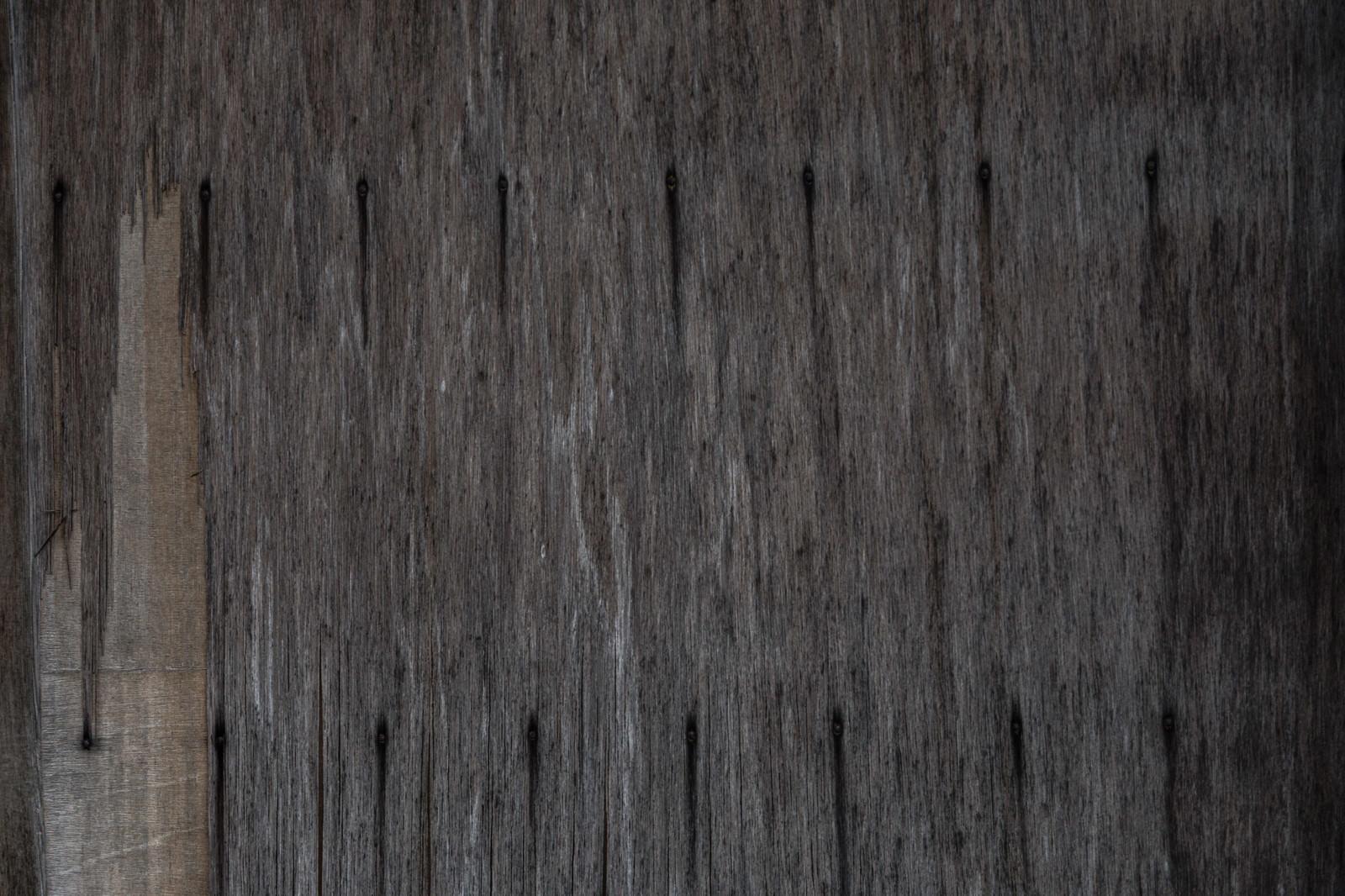 「劣化した板」の写真