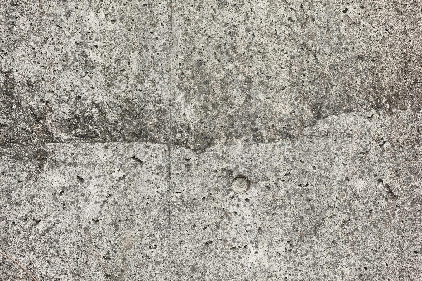 「粗いブロック塀(テクスチャ)」の写真