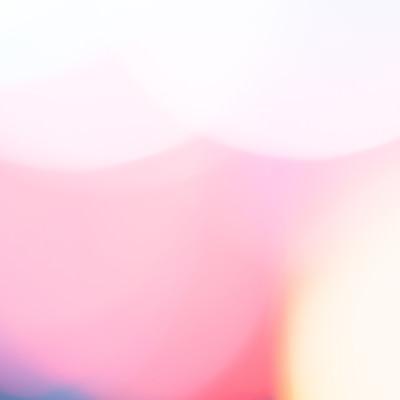 「暖色のボケた光」の写真素材