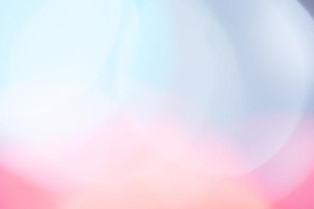 鮮やかな丸ボケの光が重なり合うの写真