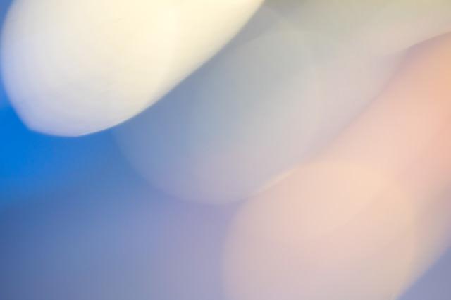 横切る光の写真