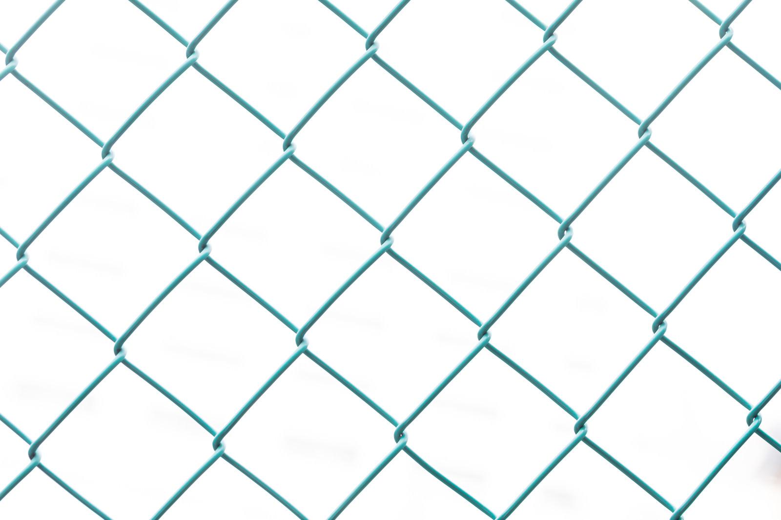 「菱形フェンス」の写真
