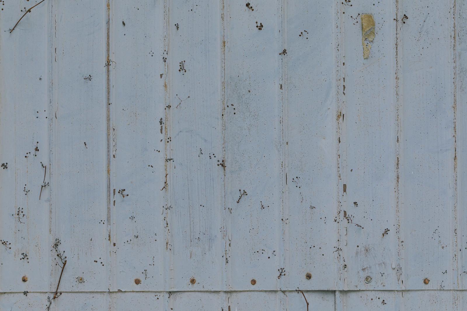 「錆びたトタン(テクスチャ)」の写真
