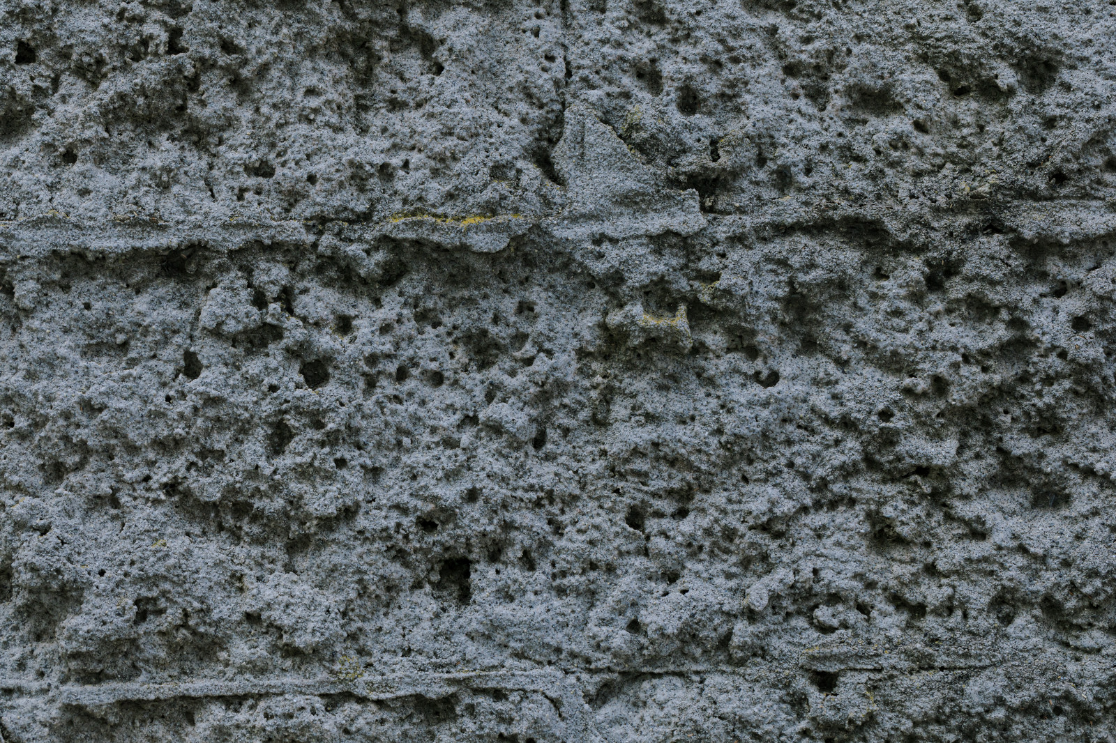 「溶けてしまったような壁」の写真