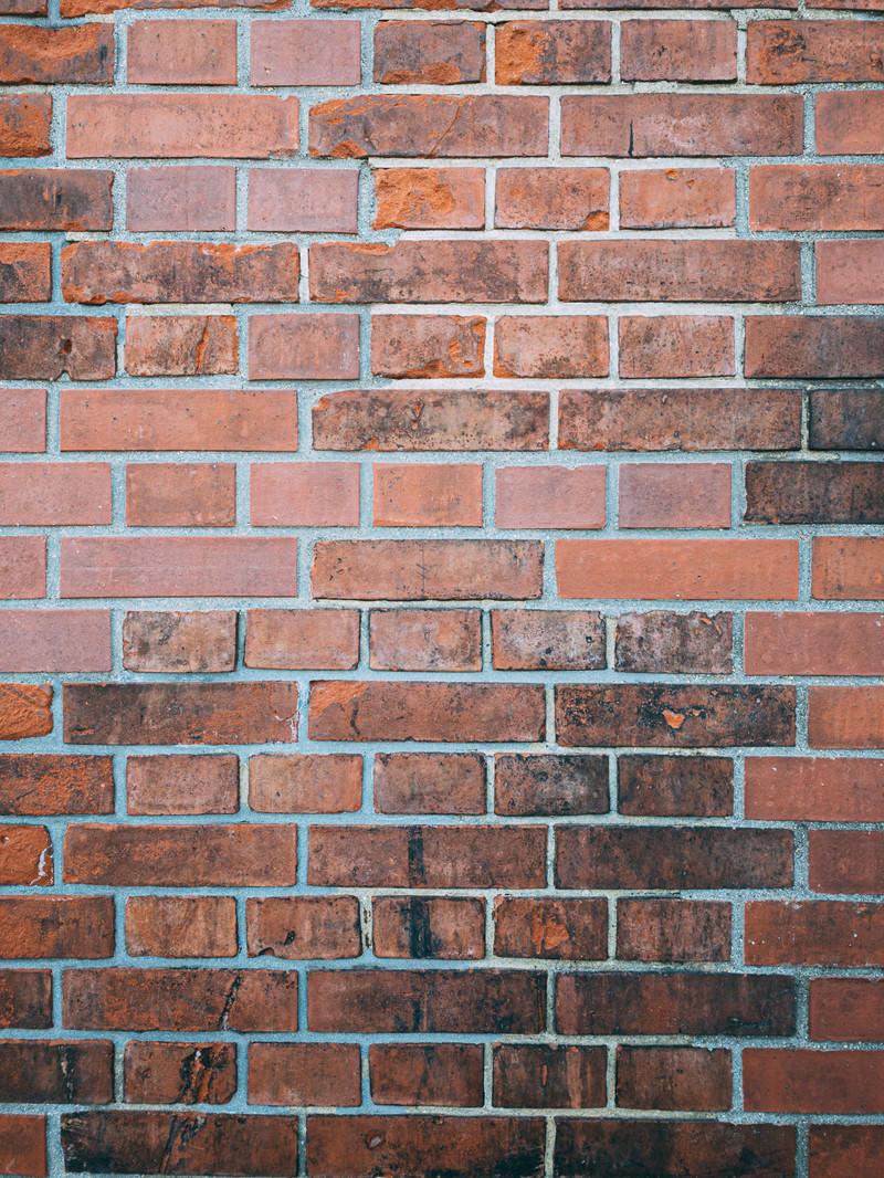 「古くてボロボロなレンガの壁(テクスチャ)」の写真