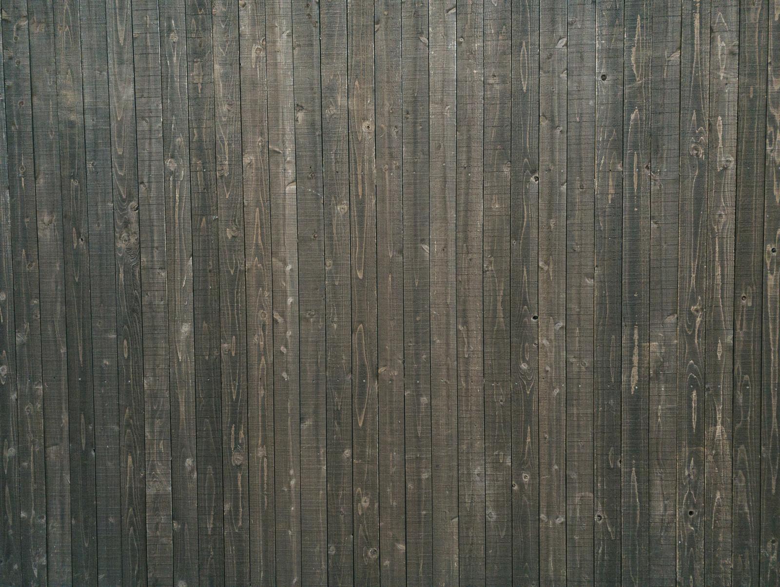 「木の塀(テクスチャ)」の写真