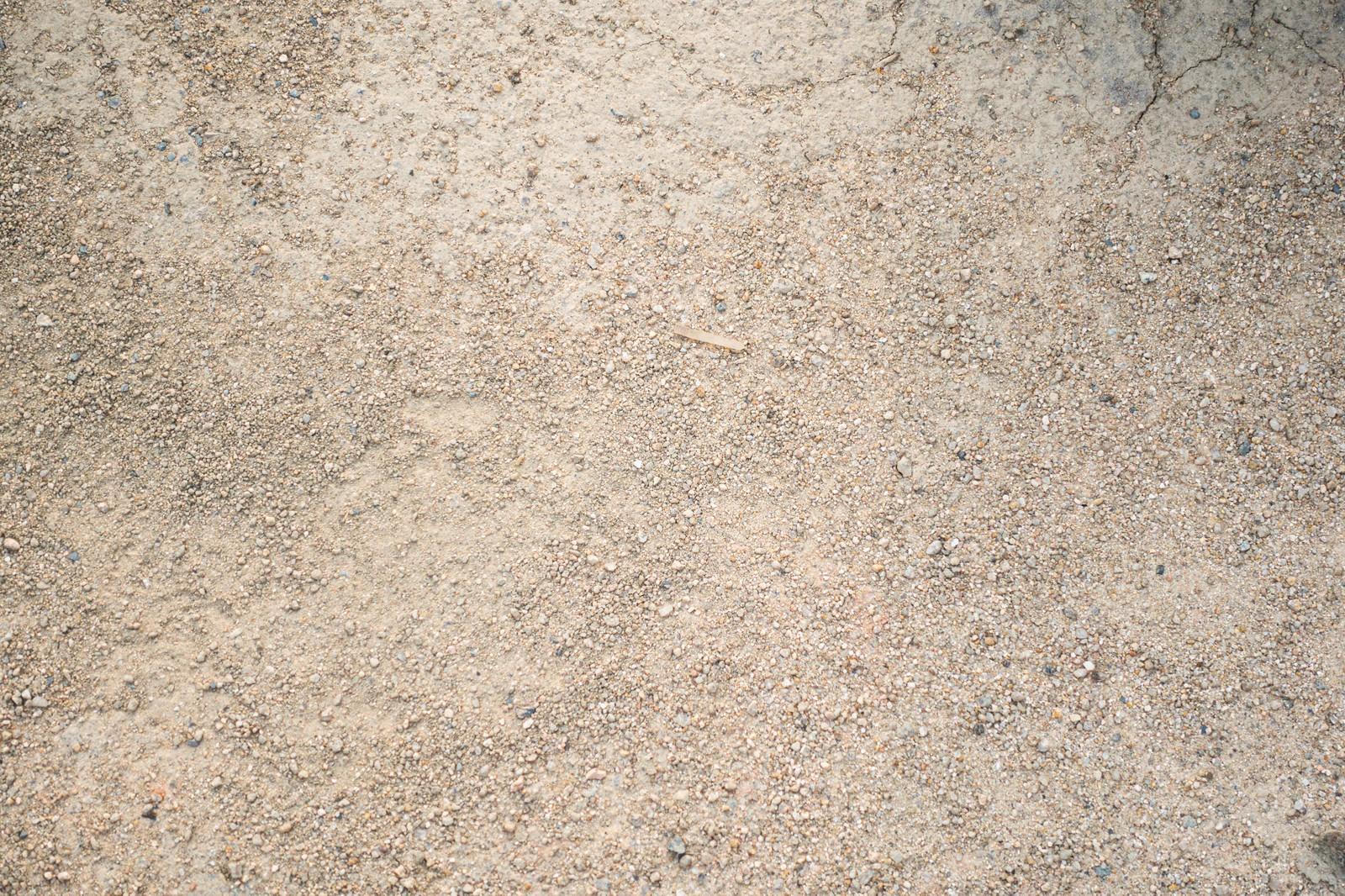 「乾燥した土(テクスチャ)」の写真