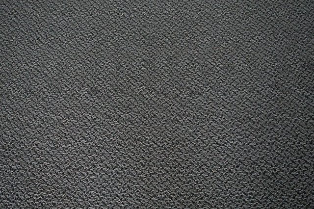 グレーのきめ細かい絨毯(テクスチャ)の写真