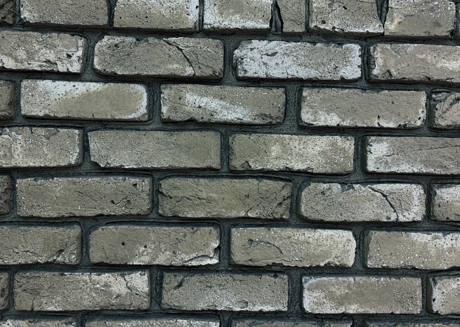 「レンガタイルの壁」の写真