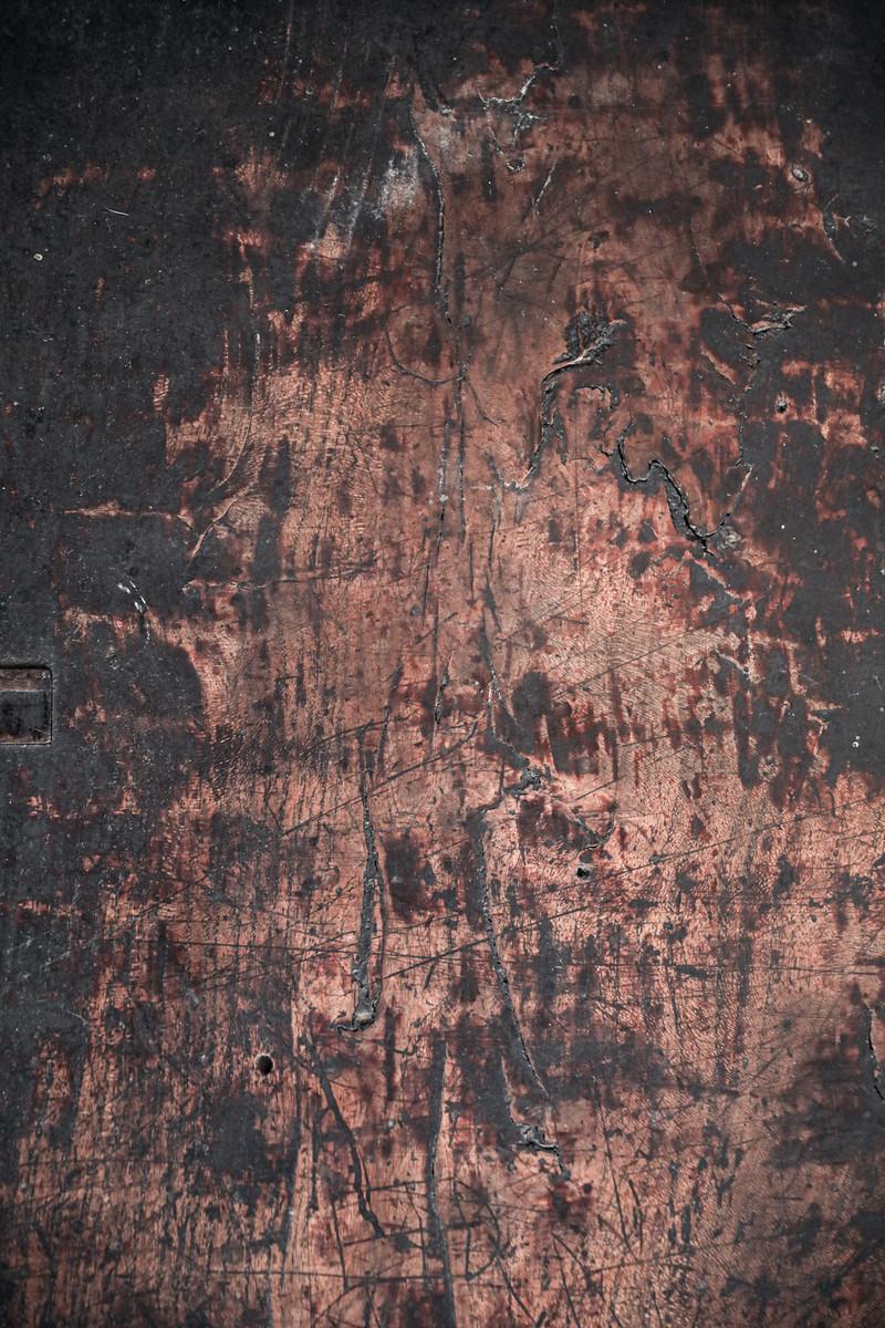 「焦げた木目板(テクスチャ)」の写真