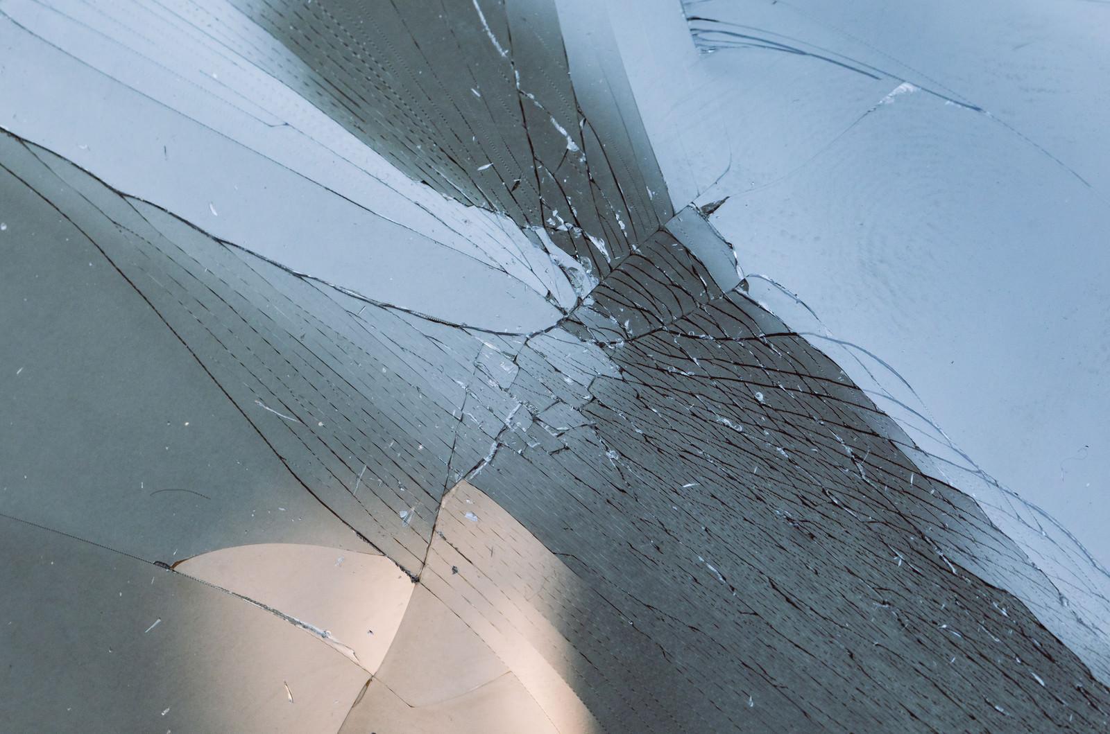 「ガラス破損」の写真