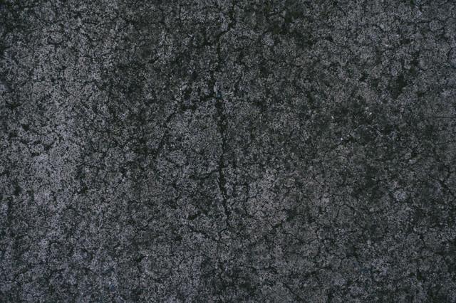 ひび割れしたコンクリートの写真
