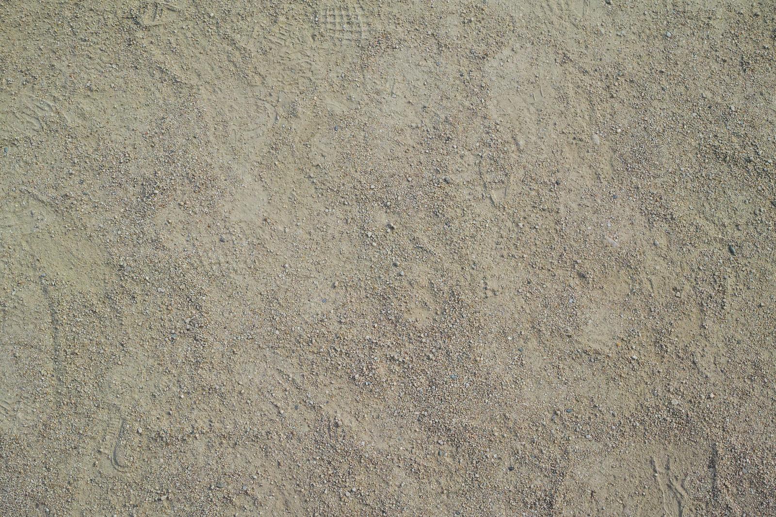 「うっすらと残る足跡(テクスチャ)」の写真