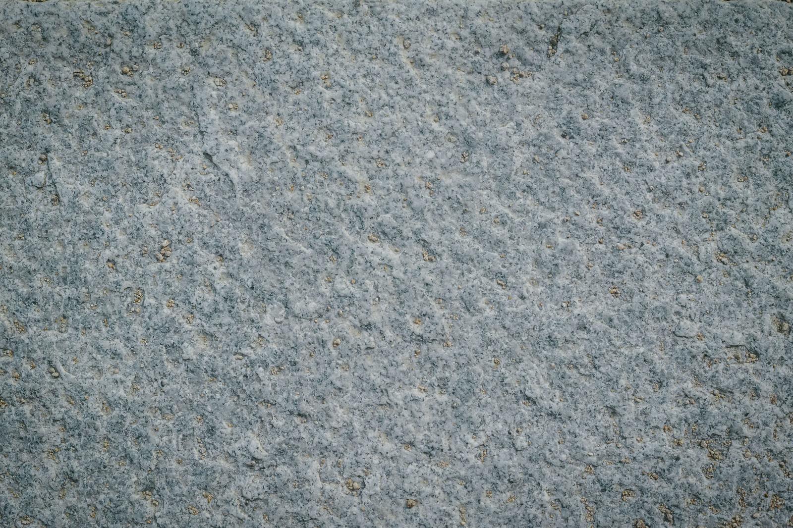 「うっすらと土が被る石材(テクスチャ)」の写真