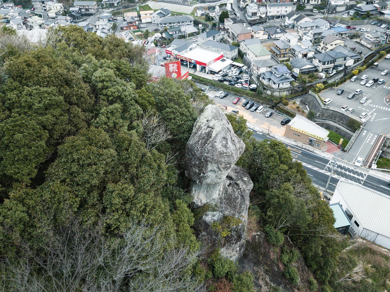 「鯖くさらかし岩の様子」の写真