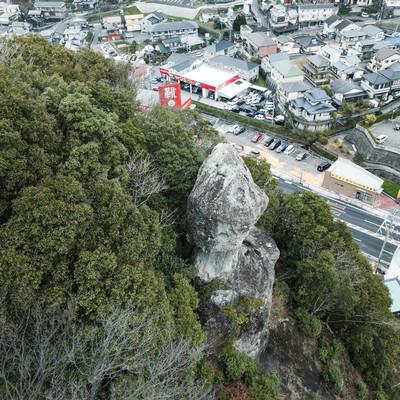 鯖くさらかし岩の様子の写真