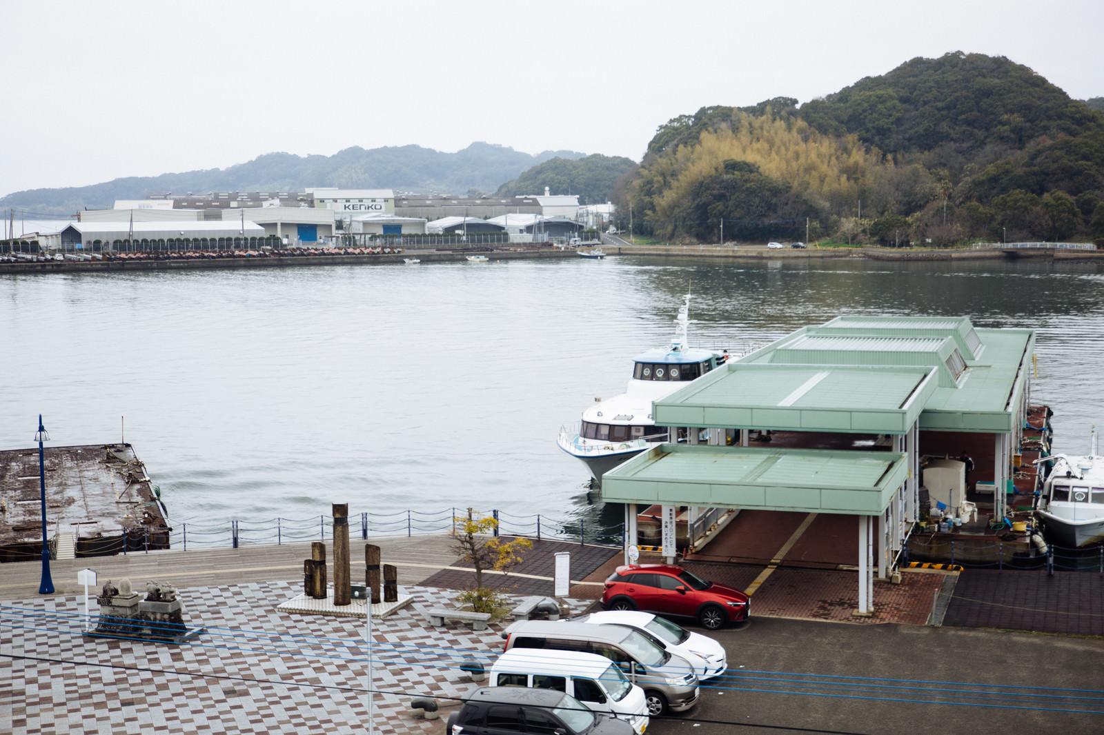 「時津港と日本二十六聖人上陸の地の記念碑」の写真