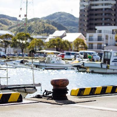 大村湾漁協前の写真