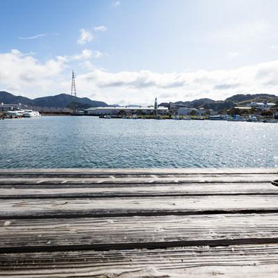 大村湾漁協組合の海の様子の写真