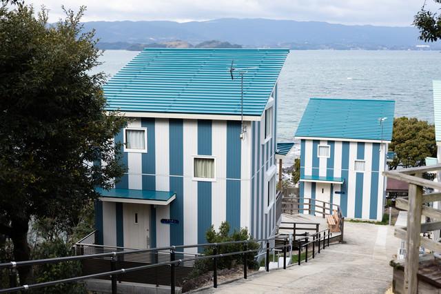 大村湾を一望できる新コテージ(時津町)の写真