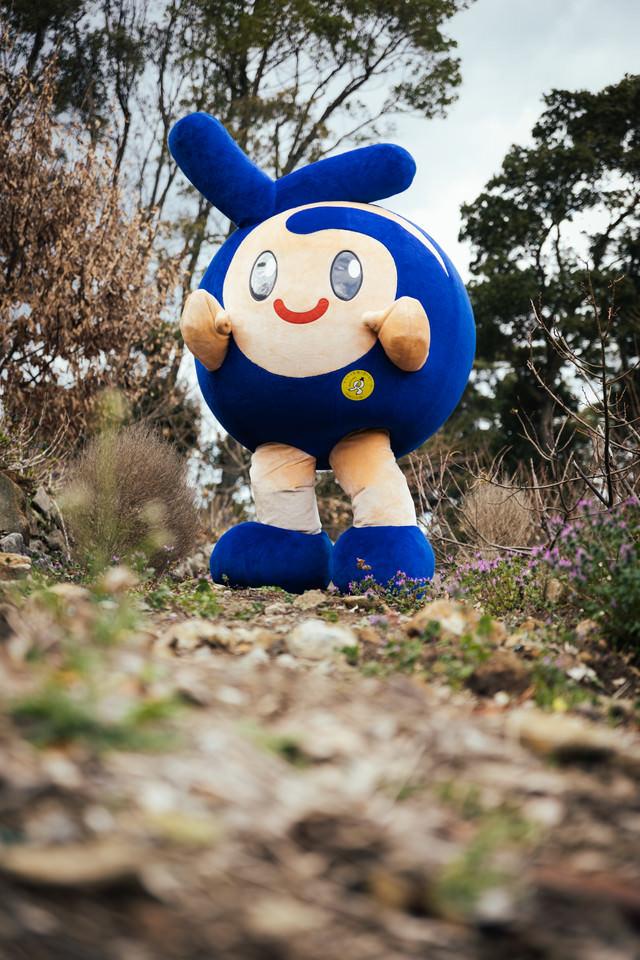 時津町のマスコット「とっきー」の写真