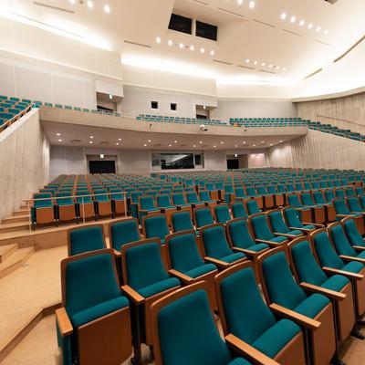 とぎつカナリーホールの座席(コンサートホール)の写真