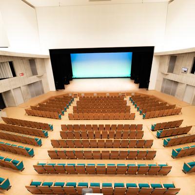 とぎつカナリーホール(2階席から)の写真
