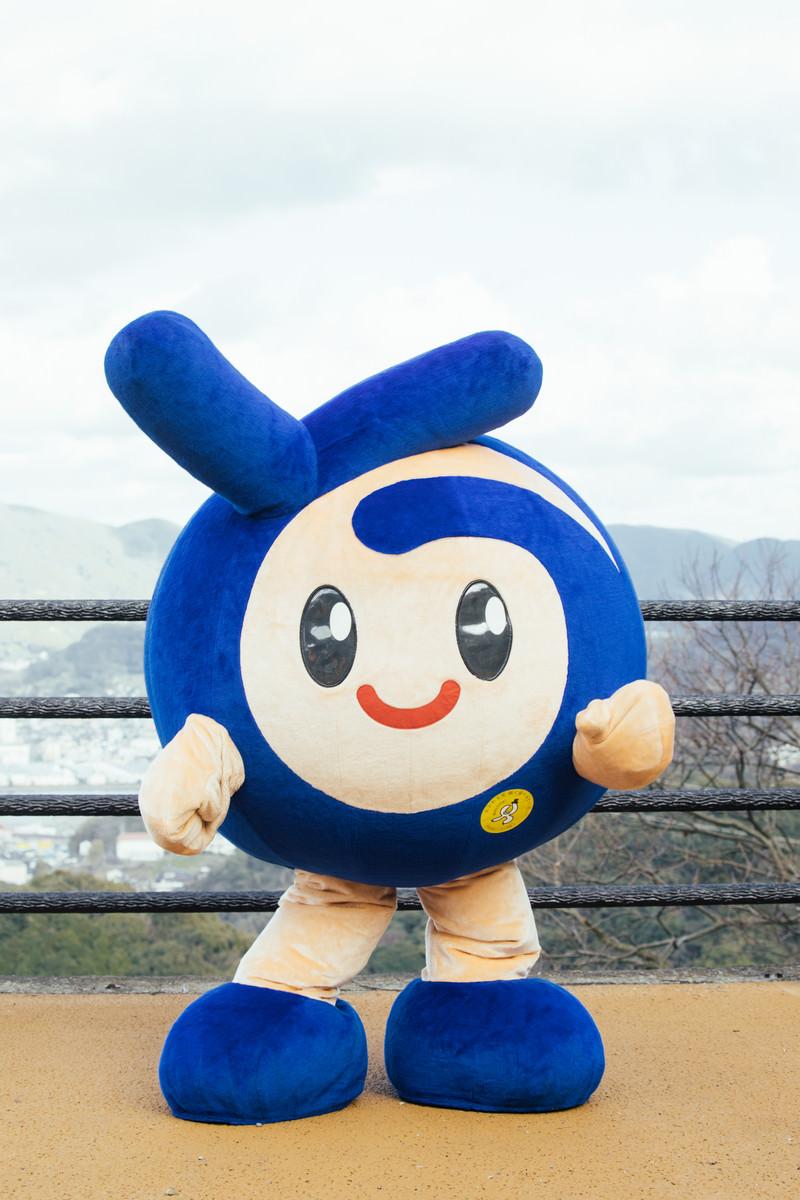 「時津町のイメージキャラクター とっきー」の写真[モデル:とっきー]