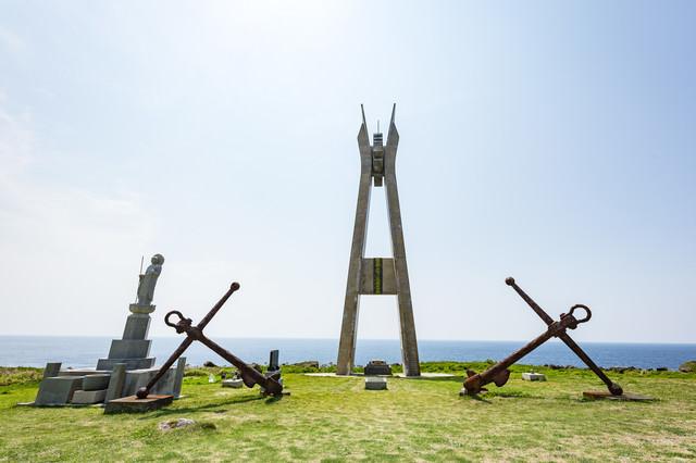 戦艦大和慰霊塔正面の写真
