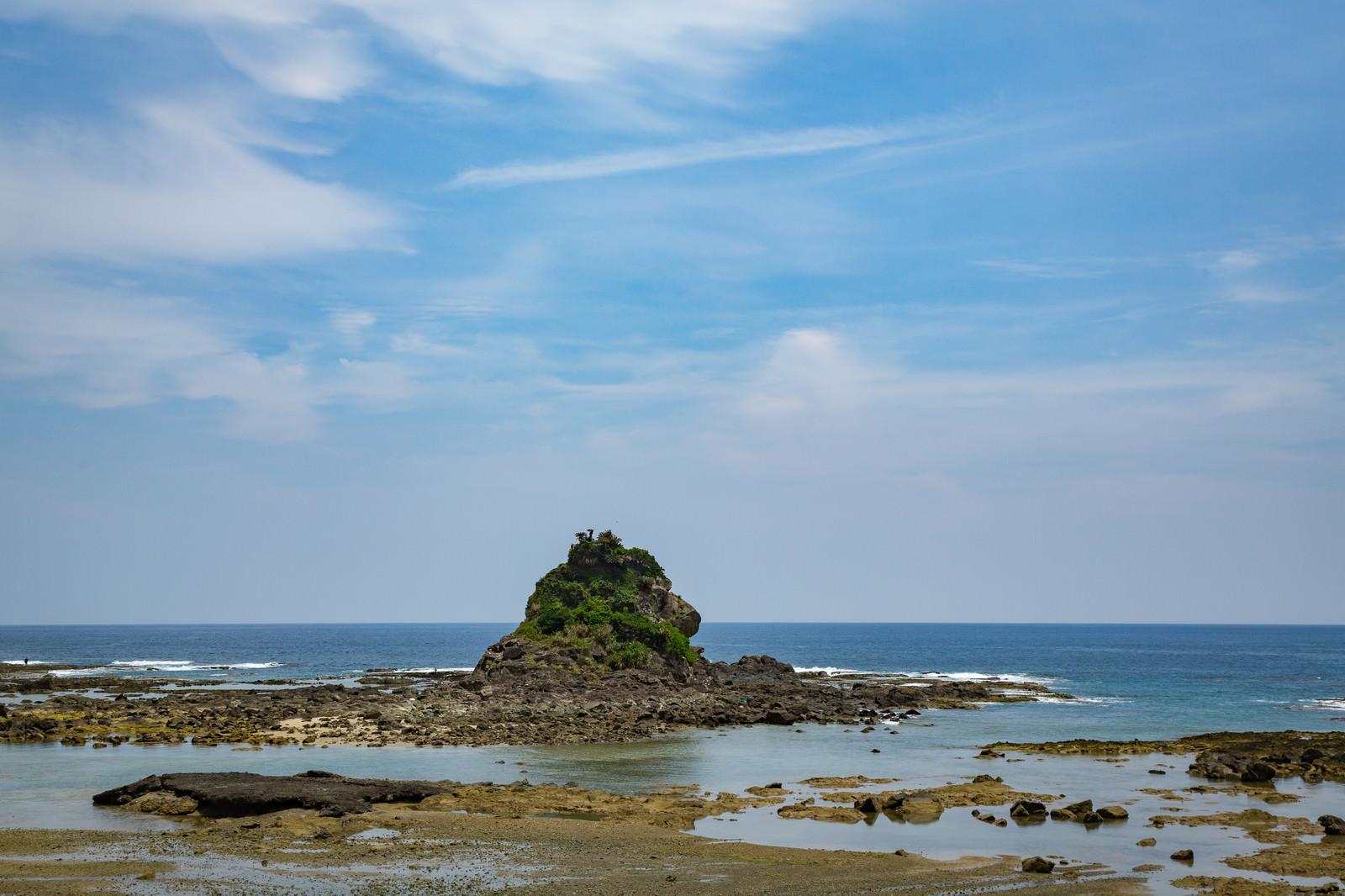 「徳之島のゴリラ岩」の写真