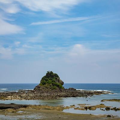 徳之島のゴリラ岩の写真